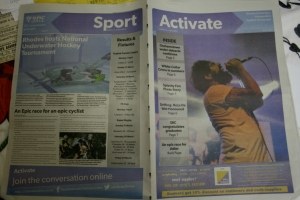 Edition and back page