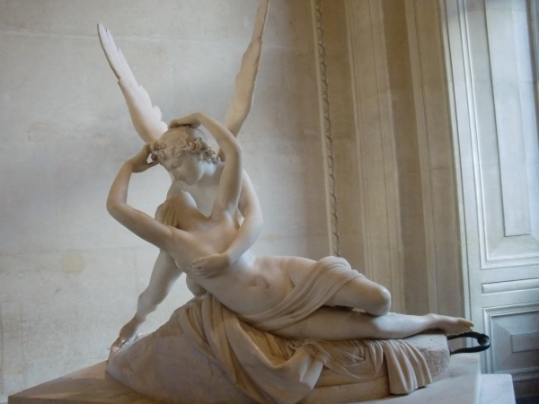 Cupid and Psyche at the Louvre