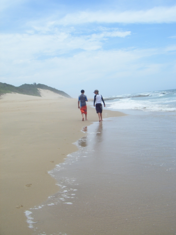 It was a bit of a long walk to the main beach though...