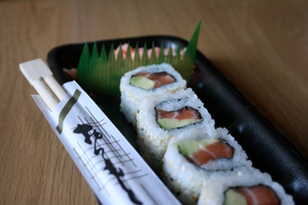 Salmon California rolls are probably my favourite