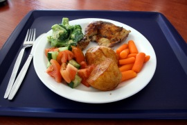 Sunday: TRADITIONAL WHOLE ROAST CHICKEN, ROAST POTATOES (Default)