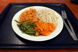 Monday: MORROCCAN RED CHICKEN, BROWN RICE (Health Platter)