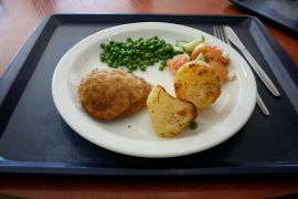 Sunday: CHICKEN KIEV, ROAST POTATOES (Default)