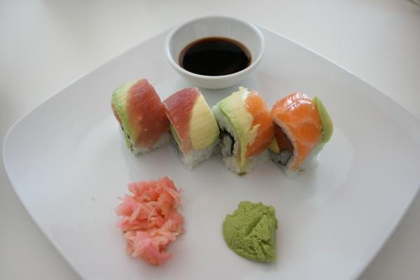 Teeny fix of sushi goodness