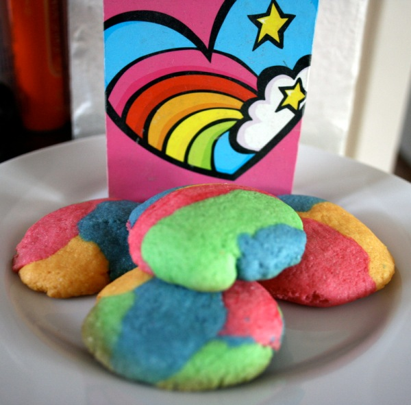 Rainbow cookies attempt #2 look much more rainbow-y and delicious as well. Proof that simpler is often better