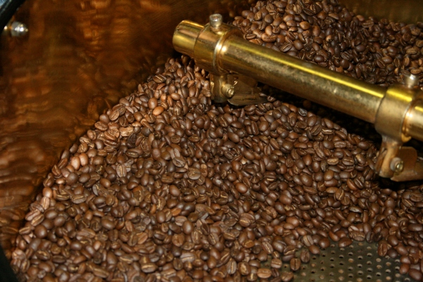 Coffee beans still