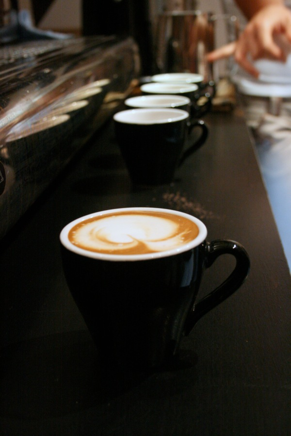 Cuppaccinos and latte art