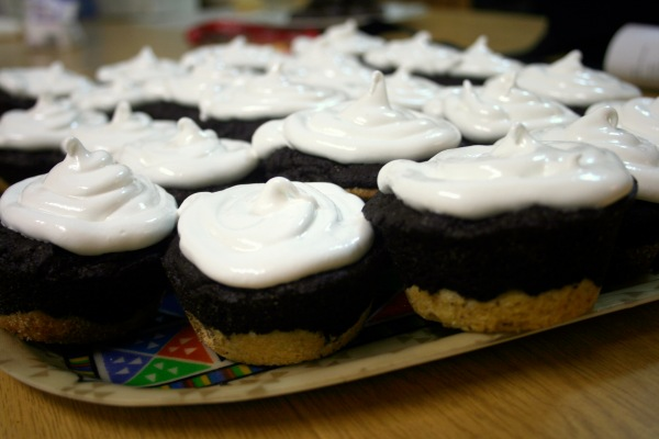 Slutty brownie cupcakes
