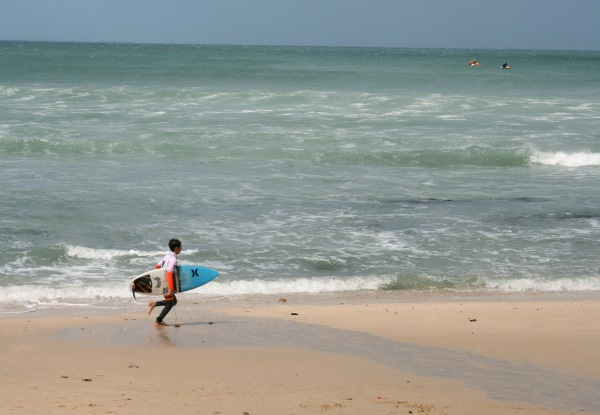 Junior Surfing competition