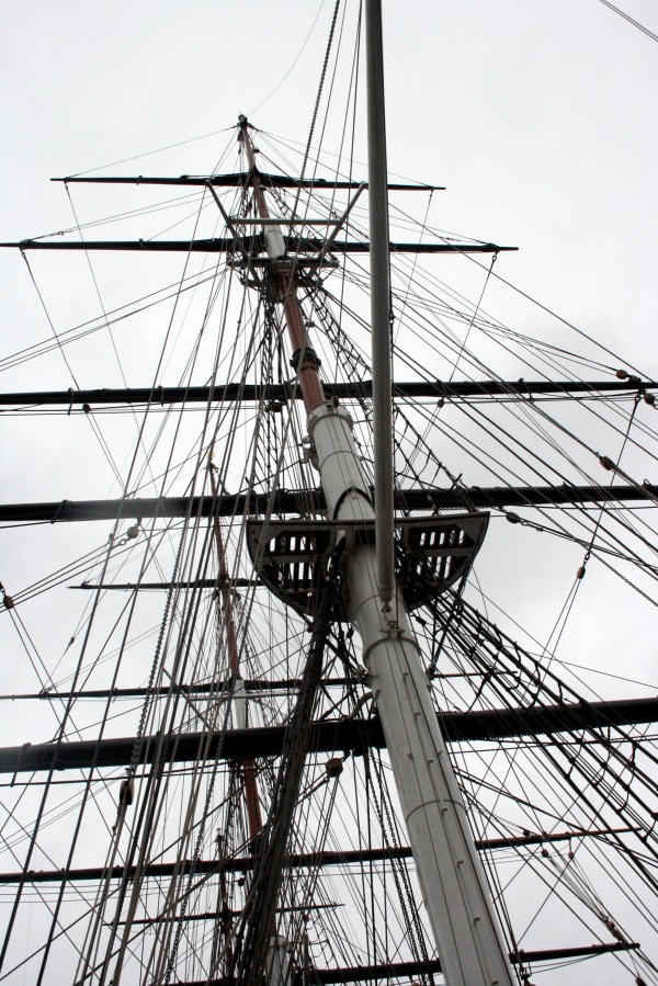 Masts and rigging always look so spectacular!