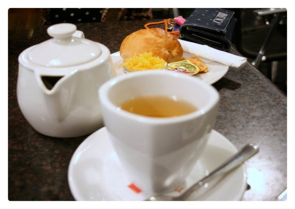 They have a larger than average tea selection, and great options for teatime accompaniments