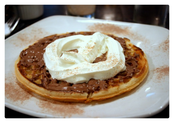 Waffles are good for breakfast too... Revelations knows how to maximise on the Bar One too, which is great!