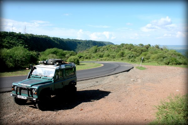 Chopper, the Land Rover Defender 100 that took us on our epic journey through Tanzania