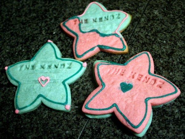 The Kendz cookies