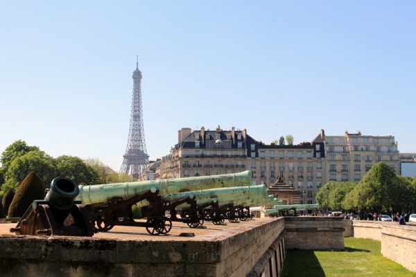 Surrounded by history is the city of Paris