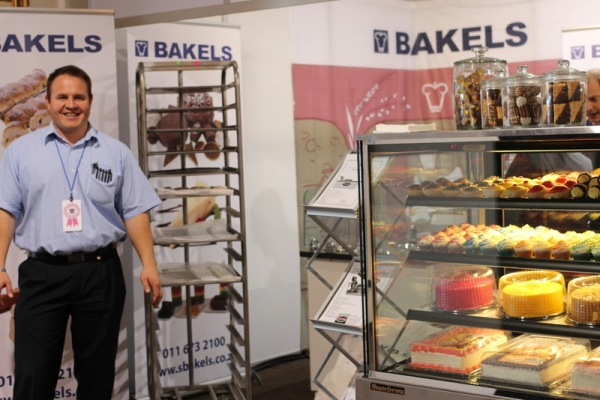 Johan from the Bakels stand was particularly generous with their offerings...